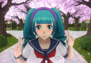 Saki's Old Hair