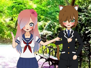Chibi shurui and ingurai photo