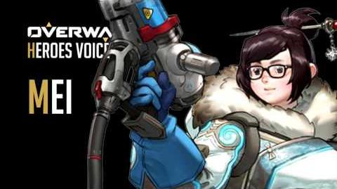 Overwatch - Mei All Voice Lines