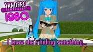 This new rival is a secret MODEL!? NEW Yandere Simulator 1980's Mode (NEW RIVALS)