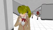 Victim-chan w innej wersji mundurka