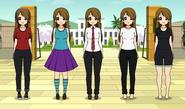 Sayo kuramoto outfits kisekae