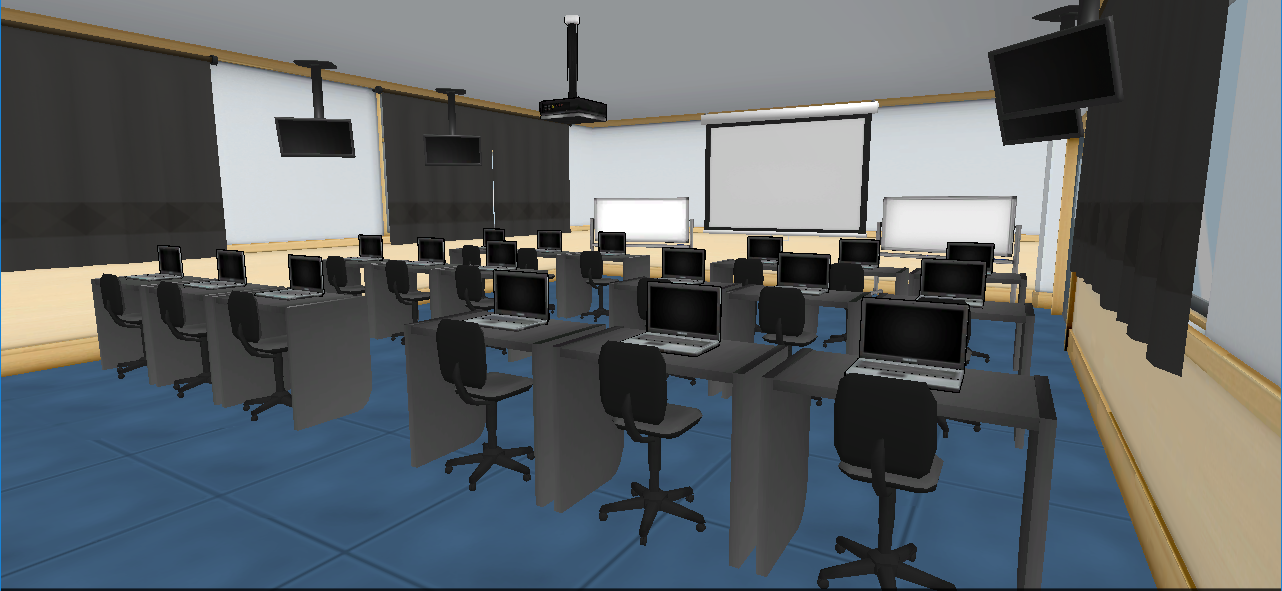 Salle d'audiovisuel