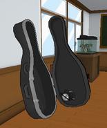 Scie circulaire violoncelle
