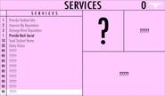 Service inconnu