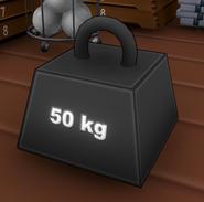 Poids de 50 KG