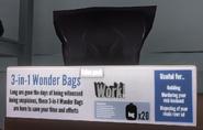 Sac poubelle boîte