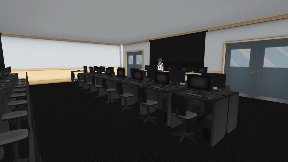 Salle des ordinateurs