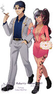 Musume's parents