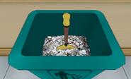 Épée poubelle