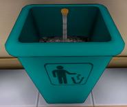 Batte poubelle