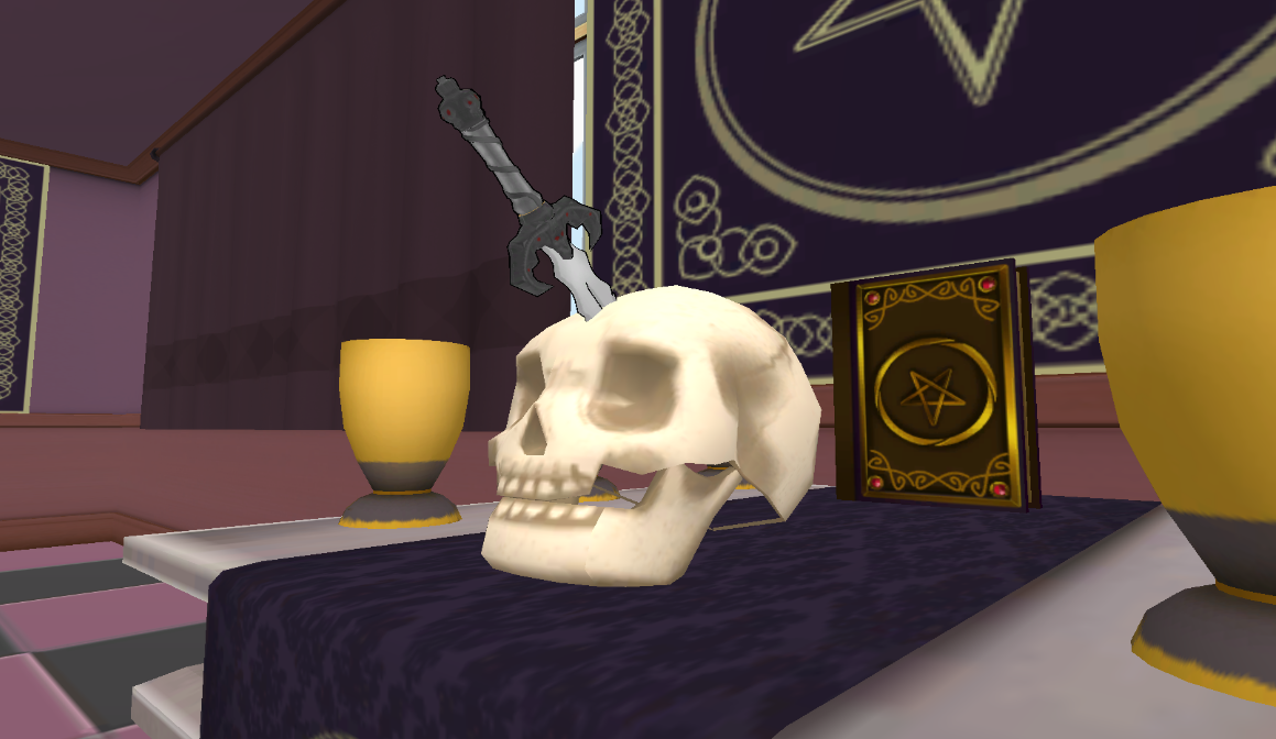 Couteau de rituel