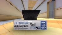 Коробка с пакетами для мусора