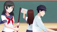 Ilustracja sprzątania szkoły