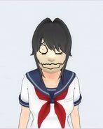 Poppe o cantor temático (Kedamono)máscaras do noh 2.