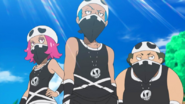 Team Skull Grunts anime