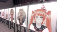 Портреты погибших учеников