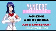 Yandere Simulator - Voicing Aoi Ryugoku (UNOFFICIAL, FOR FUN)
