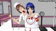 Aoi Ryugoku Gets Apprehended by the Nurse