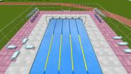 Pool from springboard