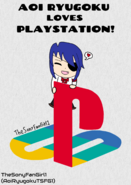 Aoi Ryugoku Loves PlayStation
