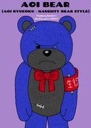 Aoi Ryugoku - Naughty Bear Style