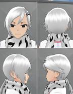 Shiromi Torayoshi Hairstyle