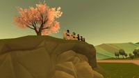 Арт клуб рисует дерево признаний