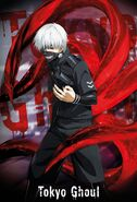Poster Anime Tokyo Ghoul Size A2