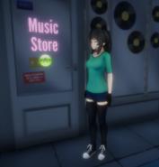 Город. Музыкальный магазин