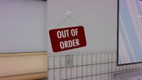 Табличка в туалете