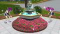 Basu Sisters Searching Fountain