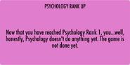 Psychology Rank 1