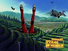 Evangelion Unidad 02 vergonzosamente derrotado por Israfel.jpg