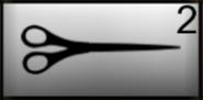 Scissors in inventory