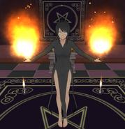 Yandere-chan flame god