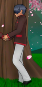 Yandere-chan's dad in the intro