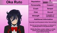 2-15-16 Oka Ruto's Profile