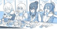 Учителя едят