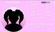 Kizana Sunobu Profile March 14th 2020