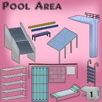 Модели некоторых объектов бассейна