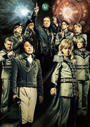 Legend of the Galactic Heroes 2013 stage production cast