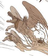 Seth's sand creatures - Ennead