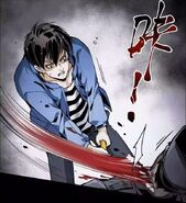 Liu strikes a zombie - 2013 Dawn of the World