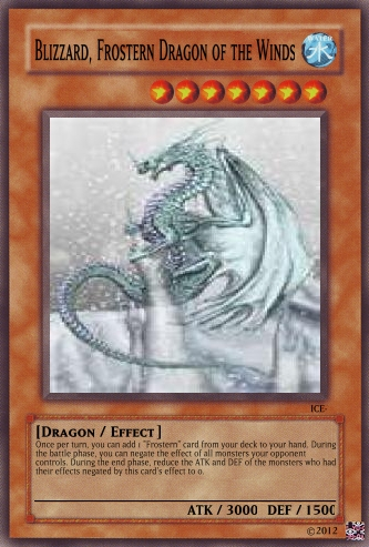Blizzard, Frostern Dragon of the Winds
