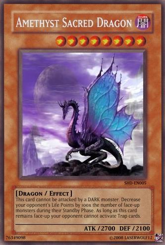 Amethyst Sacred Dragon