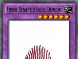 Fossil Synapsid Skull Dimetro