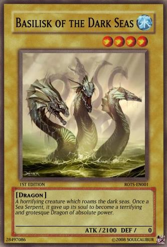 Basilisk of the Dark Seas