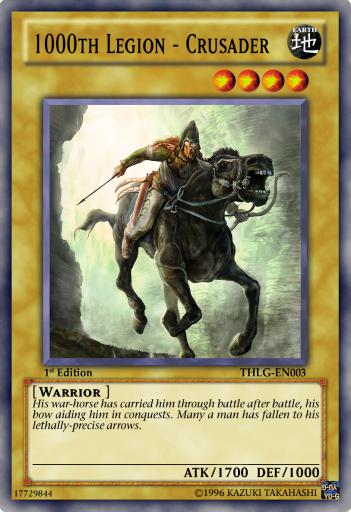 1000th Legion - Crusader