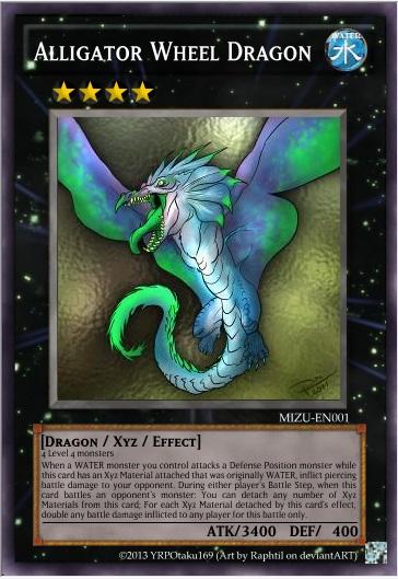 Alligator Wheel Dragon